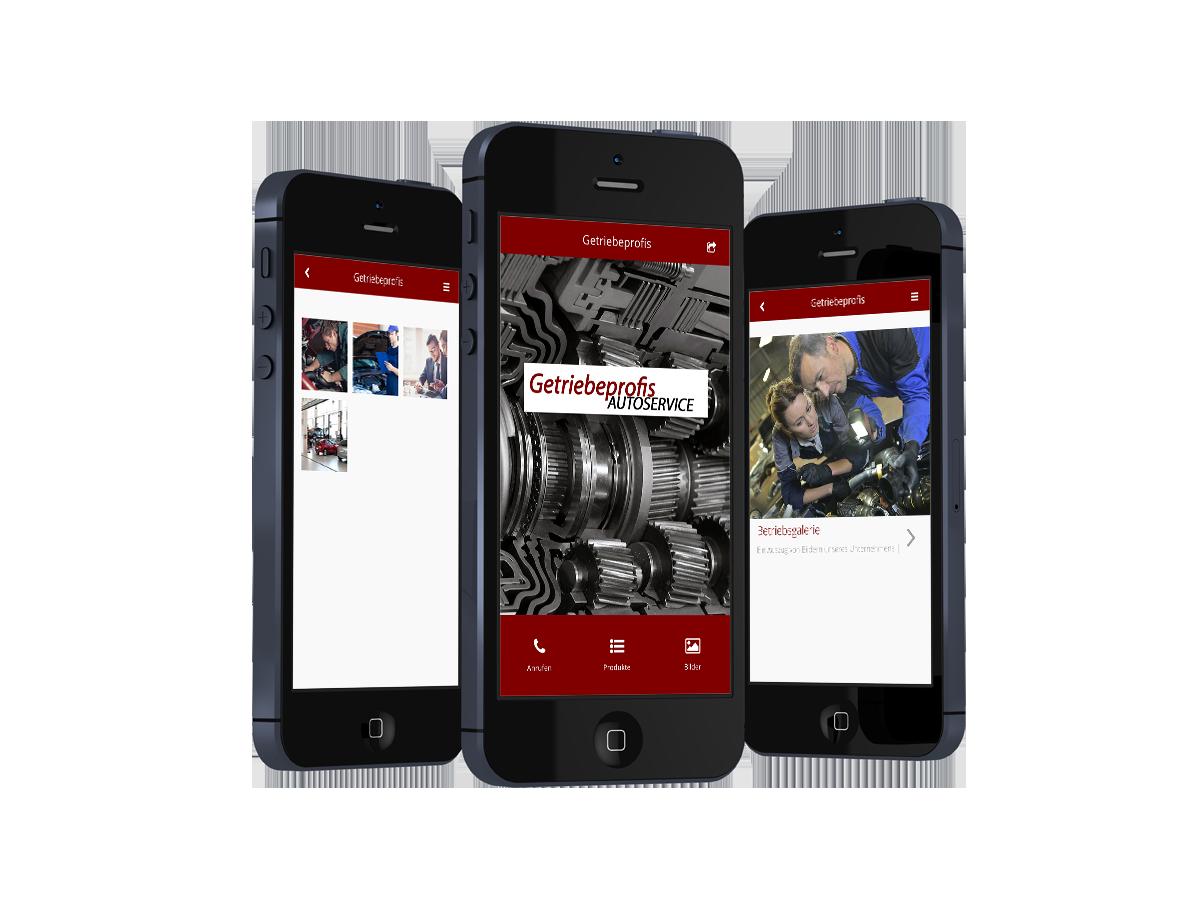 Unsere neue Getriebeprofis App