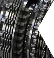 Eine Nahaufnahme von einem Automatikgetriebe